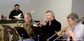Musicians at Sunday Jazz, March 7