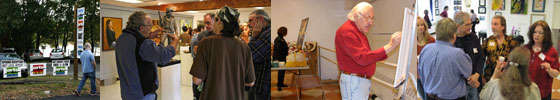 Visual artists events, art classes, art exhibitions & art associations at Arts on the Lake